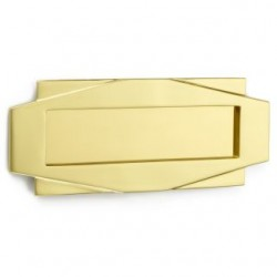 CROFT Art Deco Letterplate...