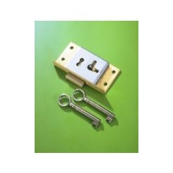 No.20c Brass Cut Cupboard Lock