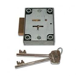 L&F 7 Lever Safe Lock 2802